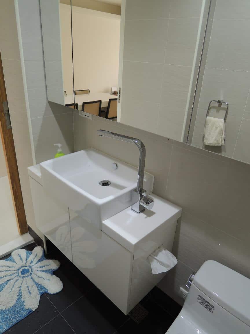 半崁盆浴櫃
