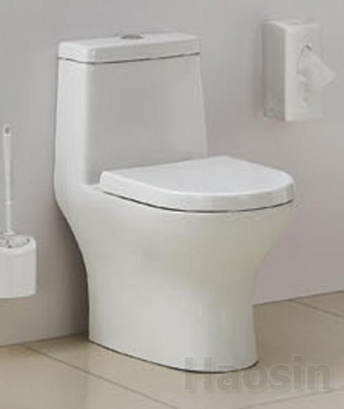 牆排單體馬桶2586p 昊鑫衛浴