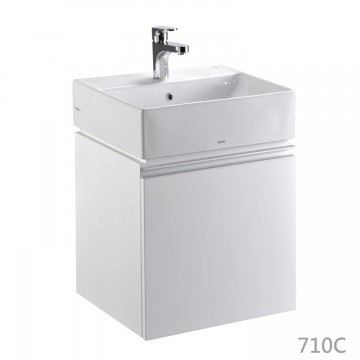 TOTO-L710CGUR臉盆浴櫃組–710C–50cm