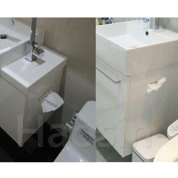 浴櫃側邊紙孔訂製