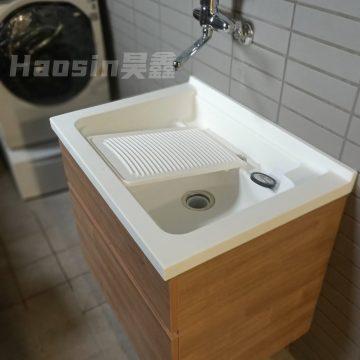 AIU570洗衣槽浴櫃組70&75cm活動洗衣板