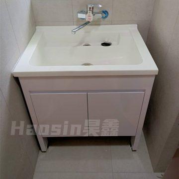 AIU580洗衣槽浴櫃組80cm 活動洗衣板