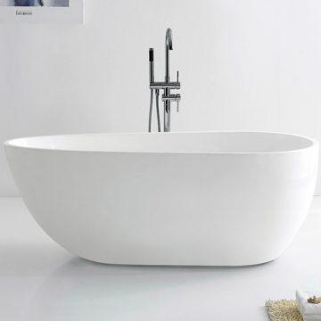 XYK181一體成型薄邊獨立浴缸140/150/170cm