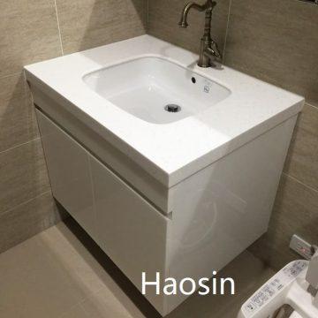 TOTO-L765E下崁盆訂製台面浴櫃-80cm