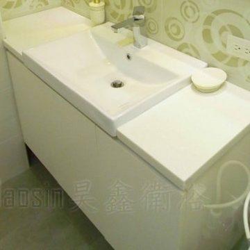 臉盆浴櫃現場實品參考(可訂製)
