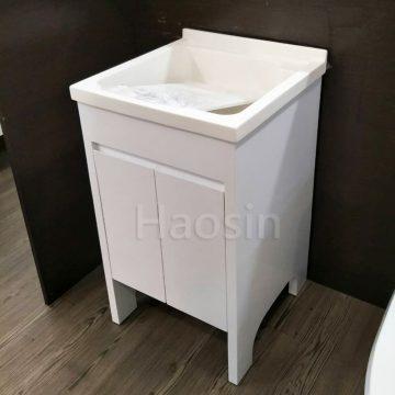 AIU550洗衣槽浴櫃組50cm 活動洗衣板