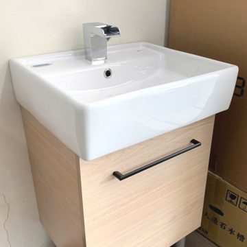 INAX-293V方盆浴櫃組50cm(門市全新樣品)