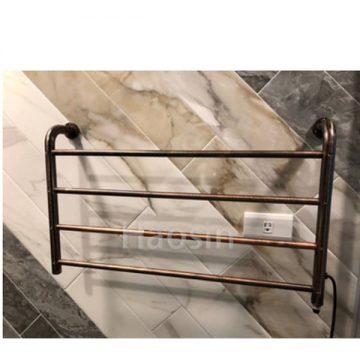 TL-01B電熱毛巾杆72cm古董棕色