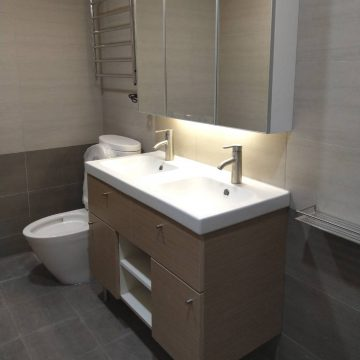 自備面盆 訂製浴櫃