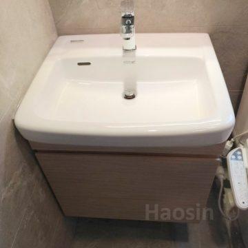 日本INAX方盆+訂制浴櫃YL-2149FC/BW1-60CM