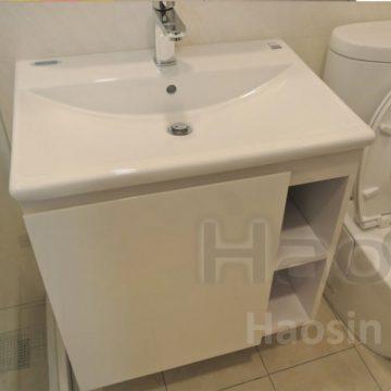 日本INAX方盆+訂制浴櫃AL2397VFC-TW/BW1-65cm