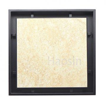 RK1010BK瓷磚型地板落水頭–鑄造款-黑色