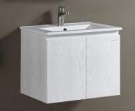 KARAT-360CH臉盆+木紋浴櫃組62cm 特價中