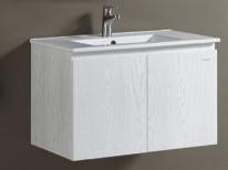 KARAT-361CH臉盆+木紋浴櫃組82cm 特價中